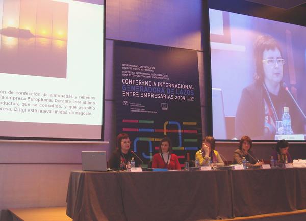 Empar Fayos en la Conferencia Internacional generadora de lazos entre empresarias.