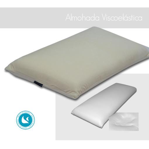Almohada Viscoelástica de alta calidad, adaptable a la presión del cuello