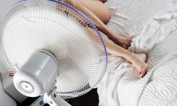 No puedo dormir por el calor. ¿Que hago?