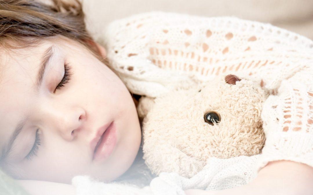¿Los niños crecen mientras duermen?