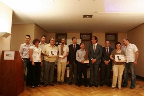 Entrega de los premios CEEI